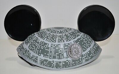 Disney Theme Parks Star Wars Death Star Hat W/Mickey Mouse Ears Adult