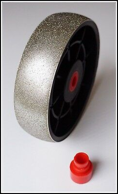 "TOP 6"" grit 220 convex lapidary diamond cabbing grinding wheel 220grit"