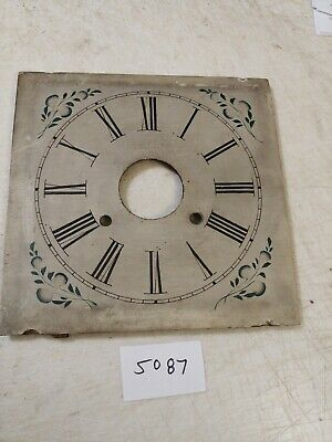 Antique Connecticut Clock Co. Ogee Clock Wooden Dial
