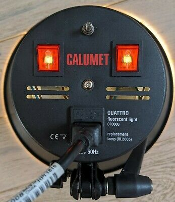 Professional studio continuous light lamp - Calumet Quattro CF0006