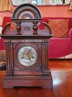 Antique Vintage Hac Striking Mantel Clock