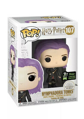 Funko Pop ECCC OFFICIAL STICKER Harry Potter Nymphandora Tonks PREORDER +PROTECT
