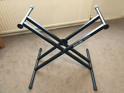 Quik Lok - Keyboard Stand - adjustable height- double braced