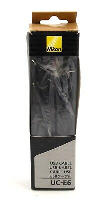 Genuine Nikon Uc-E6 Usb Cable- Brand New In Box For Coolpix