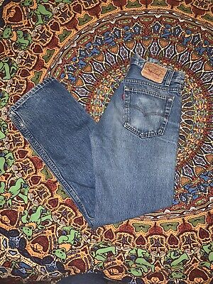 Vintage Levi's 501 31x30 Made In Usa Measure 30x29 Distressed