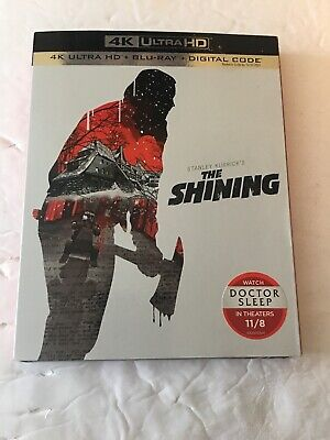 The Shining 4K (2-Disc Blu-ray, 2019)+Slipcover.Stephen King.Stanley Kubrick