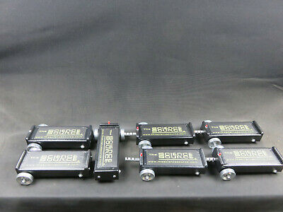 Lot of 7 Student Dynamics Carts with and without Spring Loops
