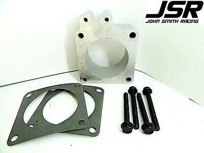 86-93 Mustang GT or LX 5.0 Throttle Body EGR Spacer Delete Plate 1//2in X 70mm
