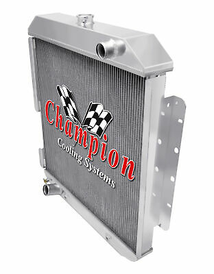 1978 1979 FORD BRONCO Champion EC433 Aluminum Ford 2 Row Core WR Radiator V8 Eng