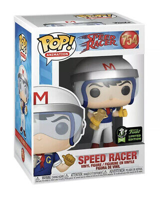Funko Pop ECCC OFFICIAL CON STICKER Speed Racer With Trophy PREORDER +PROTECTOR