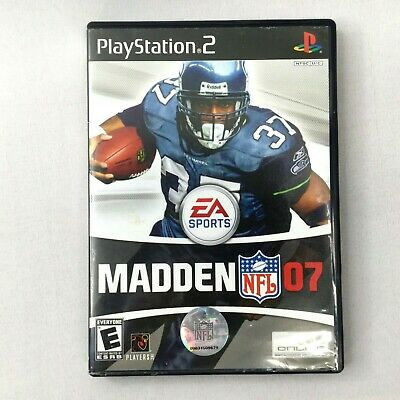 Madden NFL 07 (Sony PlayStation 2, 2006) PS2 with Manual