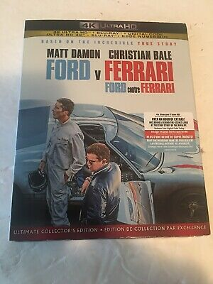 Ford Vs Ferrari 4K Ultra HD + Blu-ray + Digital