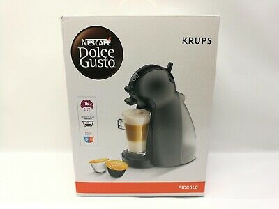 Cafetera Dolce Gusto Krups KP100B Piccolo Negra N (PO97421)