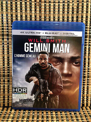 Gemini Man (1-Disc Blu-ray, 2020)Will Smith/Ang Lee/Clive Owen