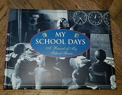 My School Days - A Record of My School Years. ⭐ New ⭐ Hardcover Record Book K-12