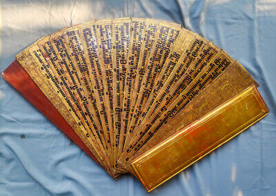 Antique Book Burmese Manuscript - Kammavaca book from Burma, 19th century