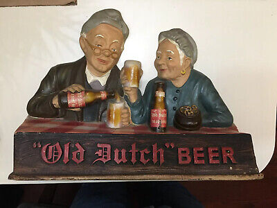 Old Dutch Beer Sign Table Advertising Findlay Ohio