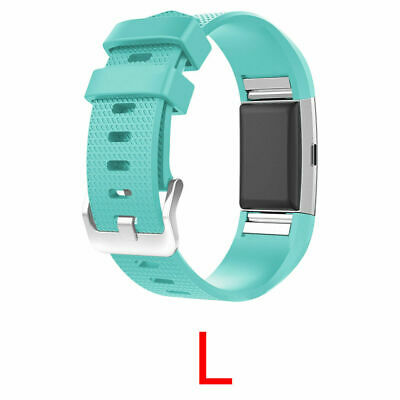 For Fitbit Charge 2 Silicone Band Replacement Wristband Watch Strap Bracelet