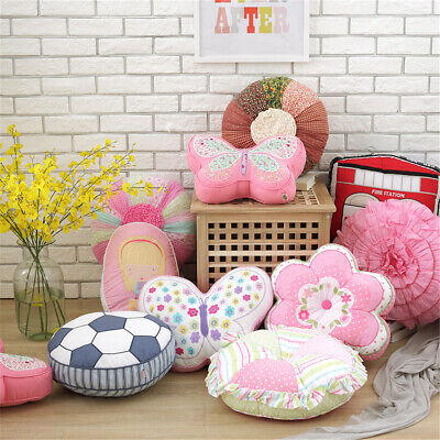 Cartoon Cotton Baby Room Pillow Cushion Kids Child Bed Sofa Car Toy Decor Gift