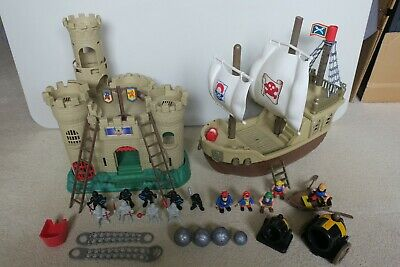 Priate Ship and Castle Play Set