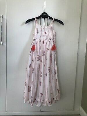 Next Girls Boho Long Summer Dress Age 10 Years Old