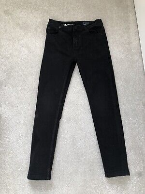 Next Boys Black Skinny Jeans Age 9 Years Old