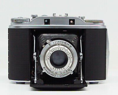 Agfa Isolette III w/Solinar 1:4.5 85mm - Case - Vintage condition