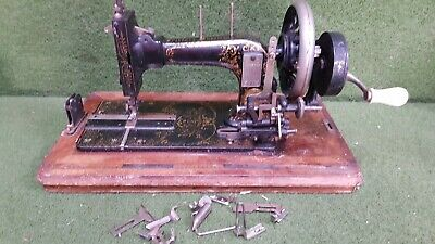 Antique Frister & Rossman Hand Cranked Sewing Machine