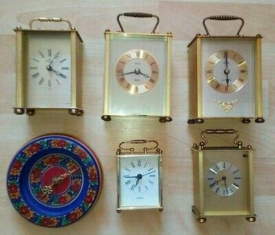 Job lot of Collectable x6 Table Clocks