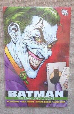 Batman The Man Who Laughs HC (DC Comics) BRAND NEW -FACTORY SEALED OUT OF PRINT