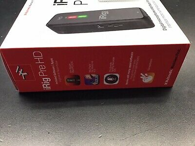 IK Multimedia iRig Pre HD Digital Microphone Interface for iPhone, iPad&Mac/PC