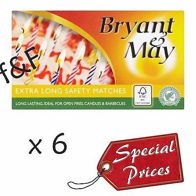 Fires Candles etc 3 Boxes Of GSD Extra Long Matches Ideal For BBQ