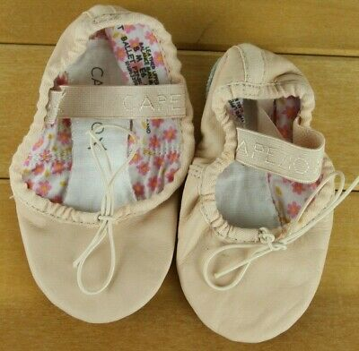 Capezio Kids Ballet Shoes Girls Toddlers Size 8 M PINK DAISY Leather A