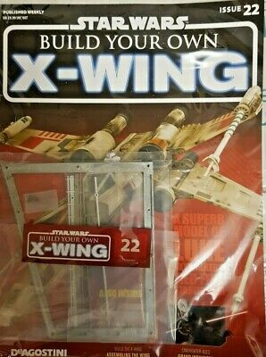DeAgostini Build Your Own X-Wing Star Wars Issue #4 Magazine Parts 1:18 Scale