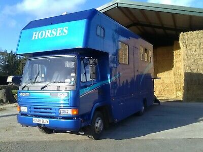 Leyland Daf 45 130 Horsebox Good Condition Tested Till Feb 21 Ready For Work