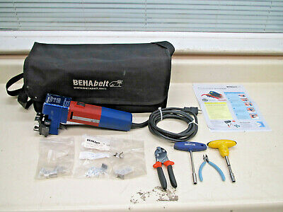 BEHAbelt RS02 Friction Welding Machine for Polyurethane Profiles Complete Used