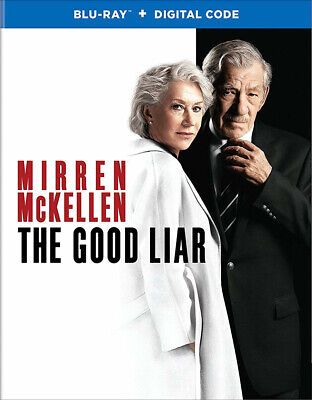 The Good Liar Blu-Ray + Slipcase No Digital Like-New Condon Mirren Free Shipping