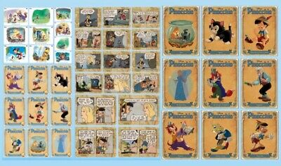 Pinocchio-Vintage+Character+Comic Set-Anniversary-Disney Collect Card Trader