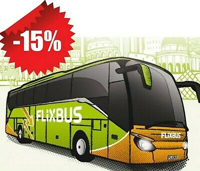 15% FLIXBUS SCONTO DISCOUNT VOUCHER CODE COUPON OFF anche da PC MYparking 10%
