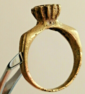 Stunnung Extremely Ancient Roman Bronze Ring rare type Artifact Amazing