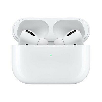Apple AirPods PRO Noise Cancelling White Genuine Wireless Earbuds (MWP22AM/A)