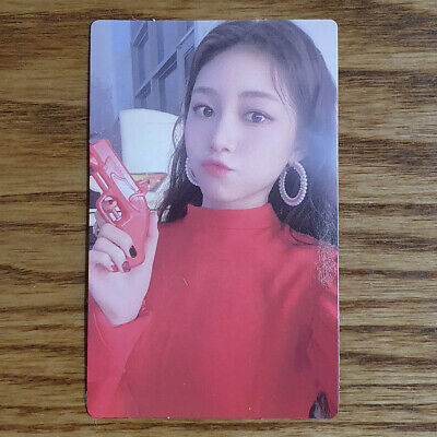 Dahyun Official Photocard Rocket Punch 2nd Mini Album Red Punch Genuine Kpop