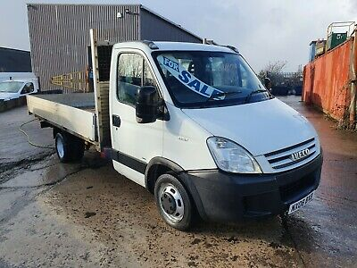 2008 Iveco Daily 35S13 2.3 Diesel Lwb Twin Wheel 14Ft Aluminium Dropside Pickup
