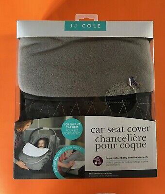JJ Cole Car Seat Cove for Infant Carriers - Gray