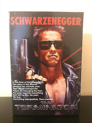 "NECA The Terminator Tech Noir 7"" Ultimate Action Figure Arnold Schwarzenegger"