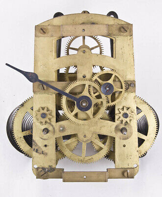 Seth Thomas 30 day 86T double dial clock movement only @ 1890 Original Rare