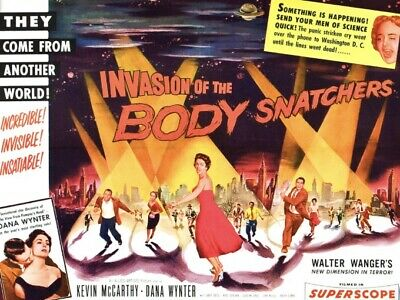 Invasion Of The Body Snatchers Super 8mm Film Trailer