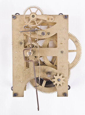 Seth Thomas 8 day time only wall regulator clock movement only @ 1890 Original