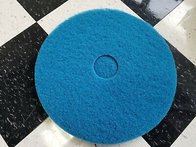 "Floor Machine Buffing Pads - 20"" Blue Cleaner"