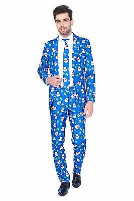 Suitmeister Christmas Suits for Men in Different Prints – Ugly Xmas Sweater Cost